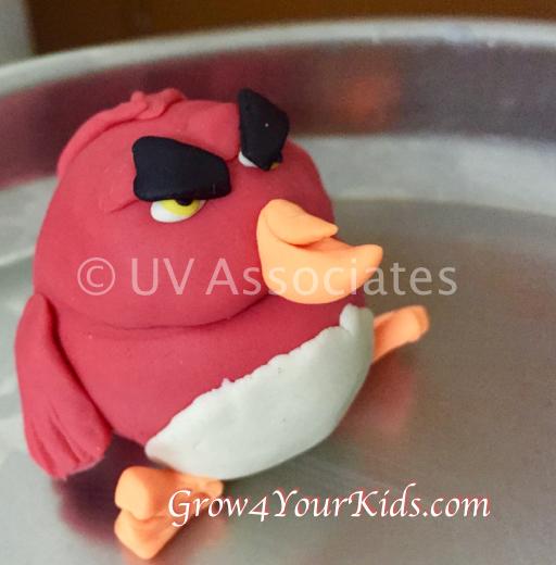 Play Dough Angry Birds - Terrance