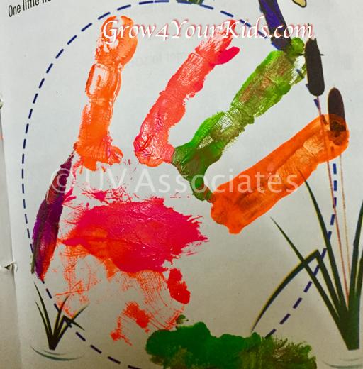 Imprint of A Little Hand