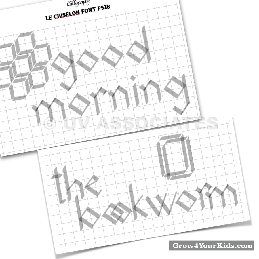 You should definitely check out these worksheets - Handwriting improvement is a by product of kids' Calligraphy