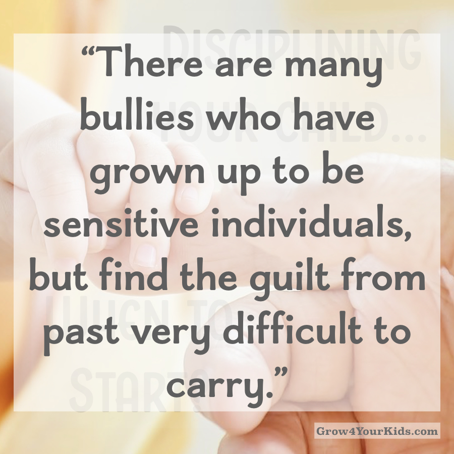 Avoid raising a Bullying - Parenting Article
