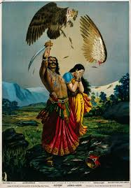 Ravan killing Jatayu