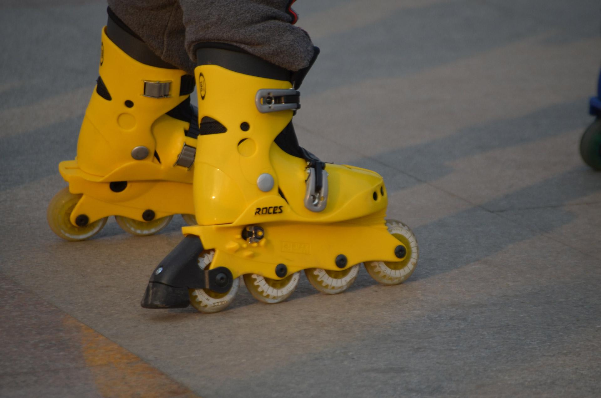 Yellow Skates