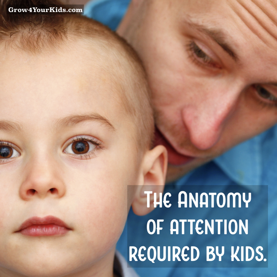 Parenting Article - The amount and quality of Attention Required by Kids
